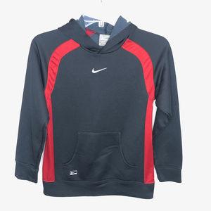 Nike Boy's Performance Black & Red Hoodie - M